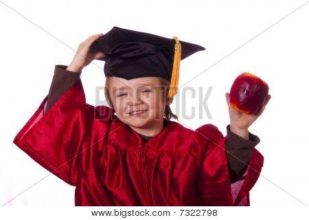Little graduation man