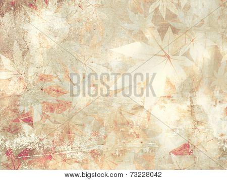 Soft floral pattern - vintage flower background
