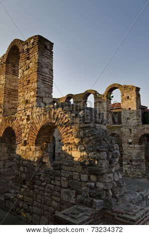 The Church Of Saint Sofia- An Eastern Orthodox Church In Nesebar- Is Part Of The Unesco World Herita