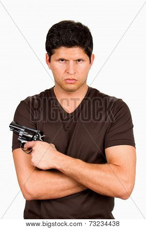 Gang Member With Gun