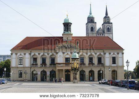 Town hall Magdeburg