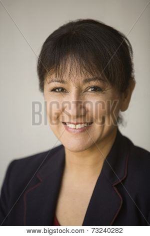Portrait of Hispanic businesswoman