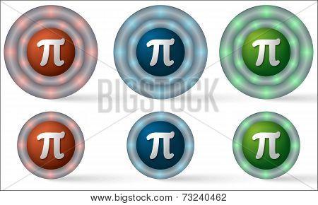 Set Of Six Icons