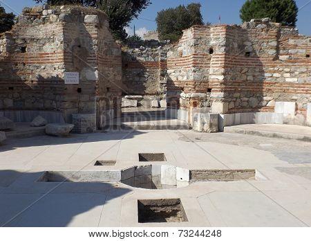 Ruins Church of St. John in Selcuk