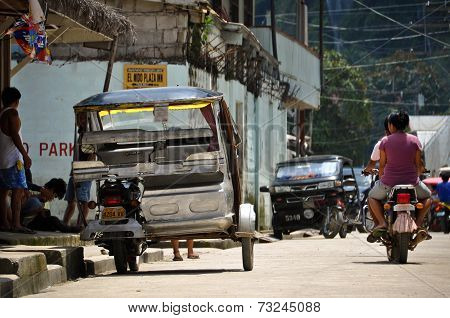 Tricycle Motor Taxi