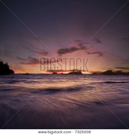 Oregon Sunset Ocean