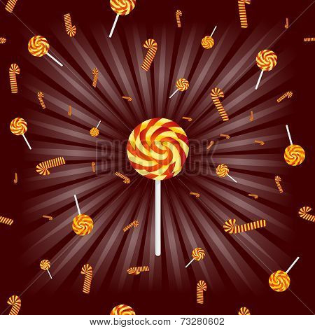 Caramel Lollipops