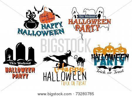 Halloween themes set