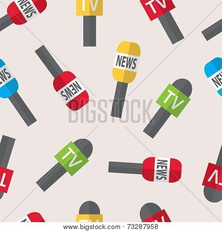 Seamless Pattern - Journalism