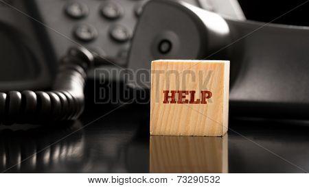 Business Help Concept