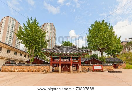 Confucian Shrine-school Dongnae Hyanggyo In Busan, Korea
