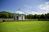 image of munich residence  - Dianatempel in Hofgarten park in Munich - JPG