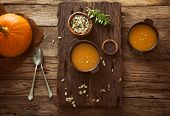 image of yellow-pepper  - Pumpkin soup - JPG