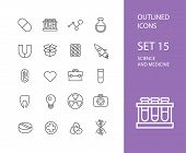 image of stroking  - Outline icons thin flat design - JPG