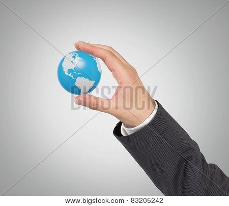 Hand Hold Globus