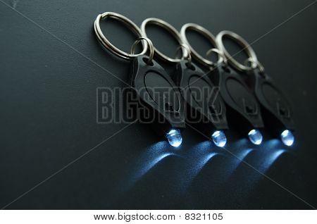 Led Keychain Micro Flashlights