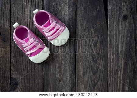 Cute Little Pink Shoes.