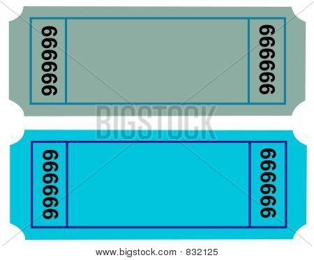 Ticket Blank