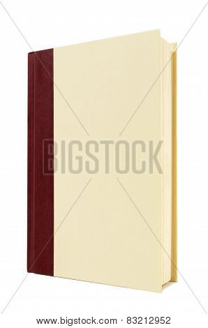Burgundy And Cream Hardback Book