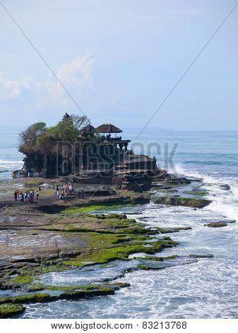 Tanah Lot temple, in Bali island, indonesia
