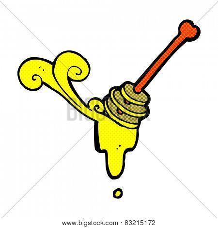 cartoon honey dipper