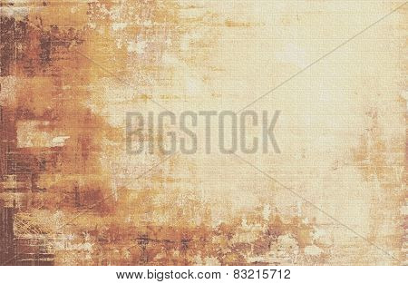Beautiful vintage background. With different color patterns: yellow (beige); brown; gray