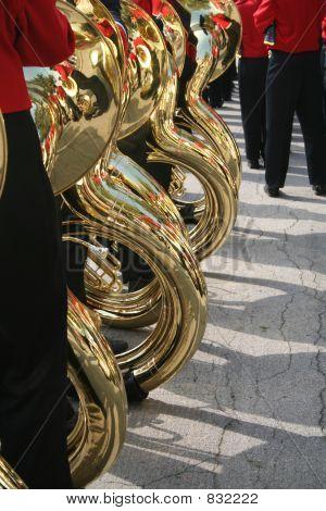 jugadores de la tuba
