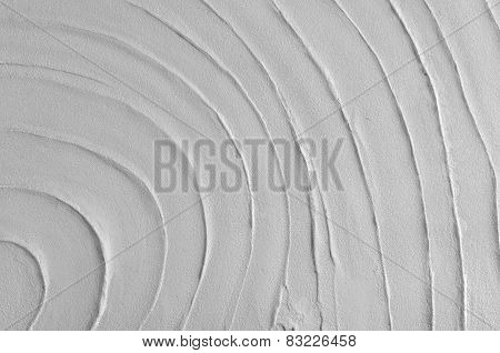 White Mortar Or Cement Wall Texture For Background