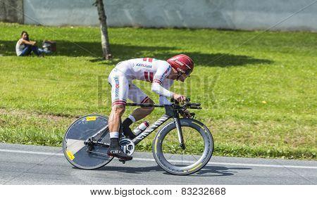 The Cyclist Gatis Smukulis