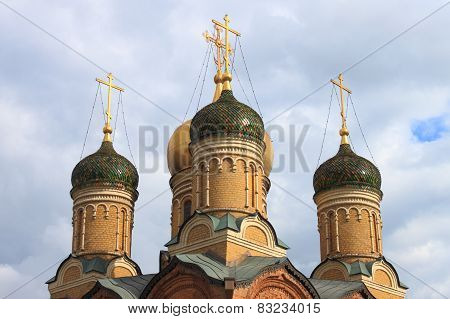 Domes of the Znamensky Monastery