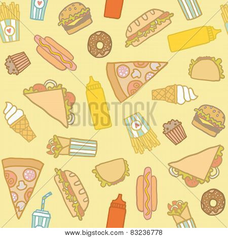 Fastfood pattern.