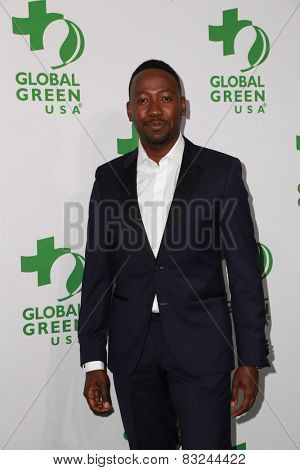 LOS ANGELES - FEB 18:  Lamorne Morris at the Global Green USA's 12th Annual Pre-Oscar Party at a Avalon on February 18, 2015 in Los Angeles, CA