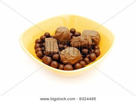assortierte Schokolade candy