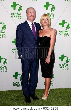LOS ANGELES - FEB 18:  Matt Walsh at the Global Green USA's 12th Annual Pre-Oscar Party at a Avalon on February 18, 2015 in Los Angeles, CA