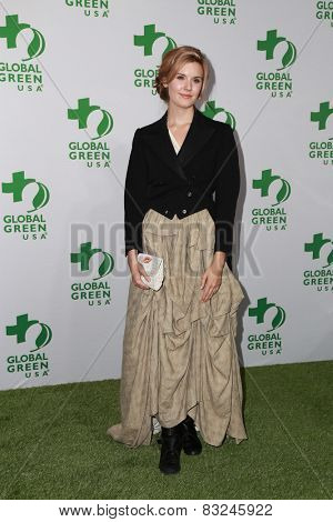 LOS ANGELES - FEB 18:  Maggie Grace at the Global Green USA's 12th Annual Pre-Oscar Party at a Avalon on February 18, 2015 in Los Angeles, CA