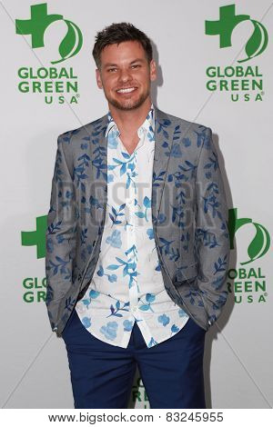 LOS ANGELES - FEB 18:  Theo Von at the Global Green USA's 12th Annual Pre-Oscar Party at a Avalon on February 18, 2015 in Los Angeles, CA