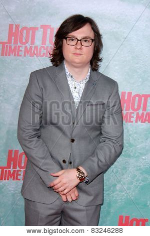 LOS ANGELES - FEB 18:  Clark Duke at the