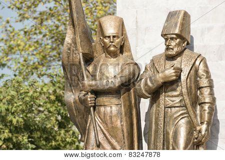 Ottoman Pasha And Janissary