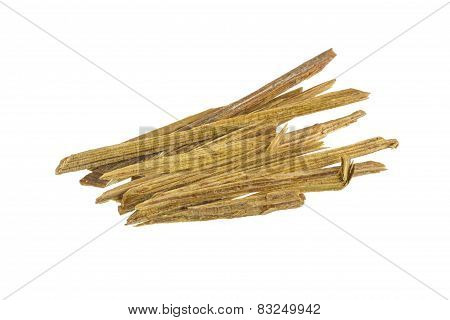 Firewood On White Background