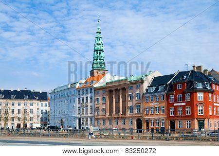 Denmark. Copenhagen. Slotsholmens Kanal
