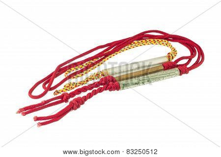 Amulet On White Background