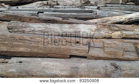 Used Wood Logs