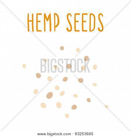Hemp seeds.