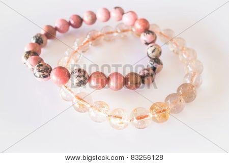 Handmade Stone Bead Created Bracelet