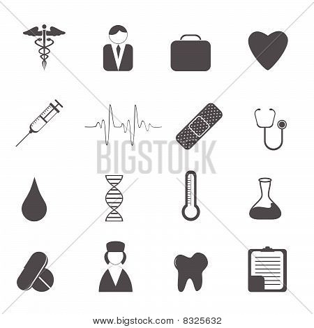 Health care and medical icons