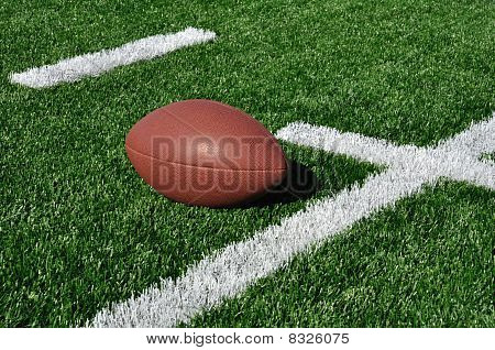 American Football On Artificial Turf