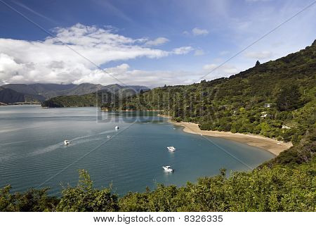 Portage Bay, Marlborough Sounds