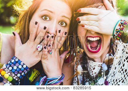 Screaming Girls, festival people