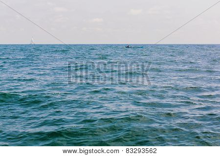 Sea And Boat