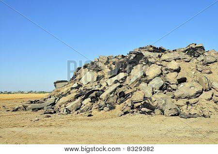 Asphalt Pile